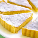 Lemon coconut shortbread